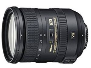 Nikon 18 - 200 mm f/3.5 - 5.6 G DX ED VR II