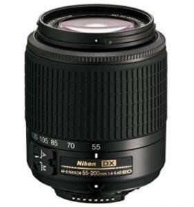 Nikon 55 - 200 mm f/4.0 - 5.6 AF-S DX ED
