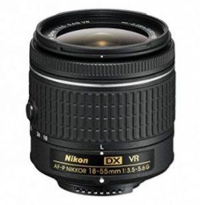 Nikon AF-P DX NIKKOR 18-55mm f/3.5-5.6G VR segunda mano