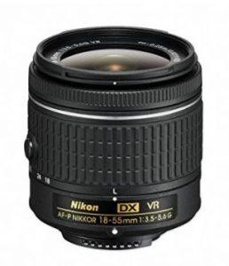 Nikon AF-P DX NIKKOR 18-55mm f/3.5-5.6G VR - Objetivo