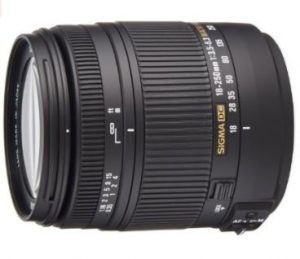Sigma 18-250OS - Objetivo para cámaras Canon (estabilizador óptico, 1:2.9, filtro de 62 mm), color negro segunda mano