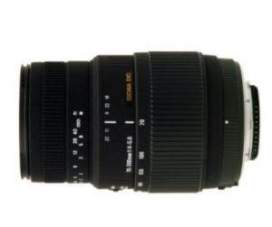 Sigma 70-300/4-5.6 BMD Macro DG