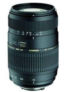 Tamron A17NII - Objetivo para Nikon (70-300mm, f/4-5.6, macro, 62 mm)