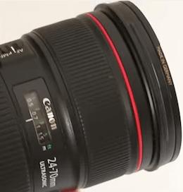 Precio del Objetivo Canon 24-70