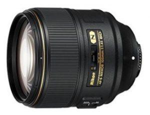 Objetivo Nikon fx AF-S NIKKOR 105mm f/1.4E ED