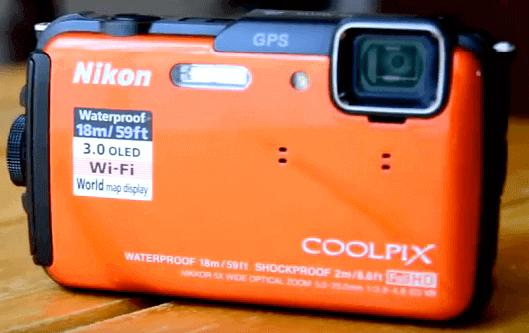 Cámaras Nikon acuática