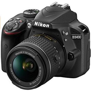 Nikon_d3400_cámara y objetivo