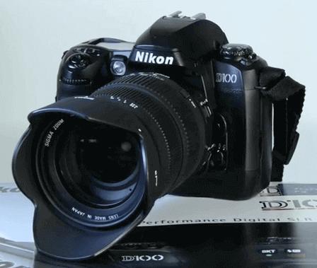 Nikon d100 oferta