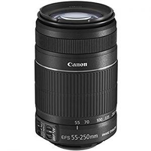Objetivo Canon 55-250