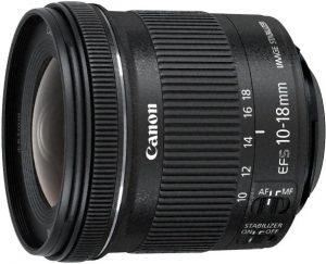 Objetivo Gran Angular Canon
