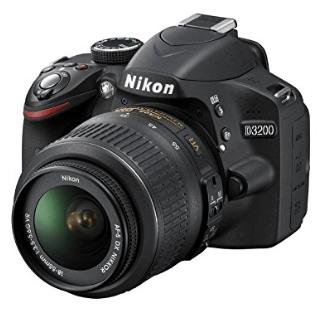 Nikon d3200 cámaras