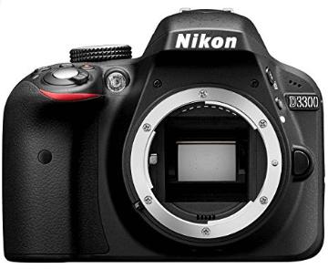 Nikon 3300 cámara cuerpo