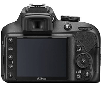 Nikon d3400 pantalla