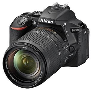 Nikon d5500 con objetivo