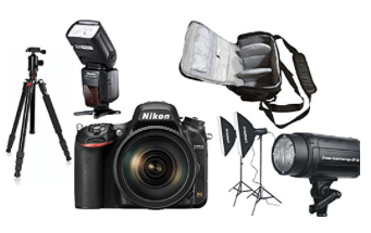 Nikon d750 oferta kit completo