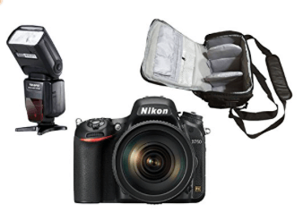 Nikon d750 con flash