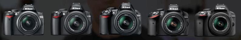 Cámaras Nikon modelos d