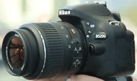 Modelo Nikon d5200