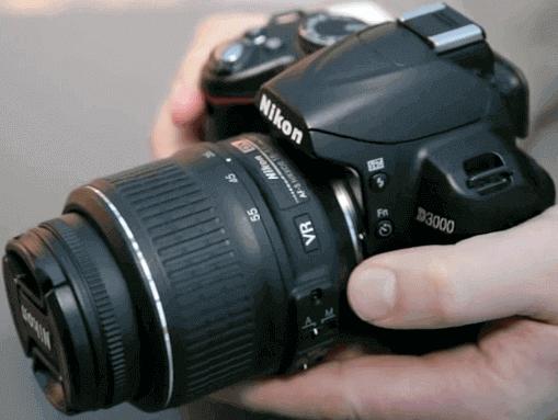 Modelos Nikon d3000