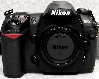 Modelo Nikon d200