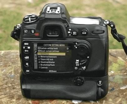 Modelo Nikon d300