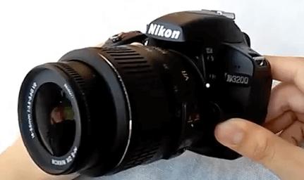 Modelos Nikon d3200