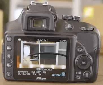 Modelo Nikon d3400