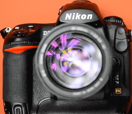 Modelo Nikon d3