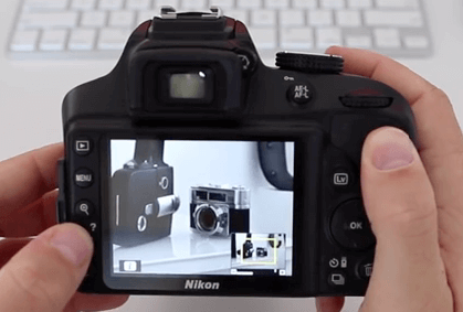 Modelo Nikon d400