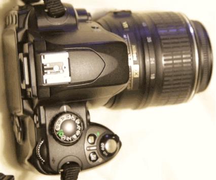 Modelo Nikon d40