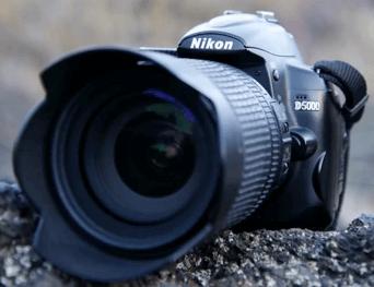 Modelo Nikon d5000