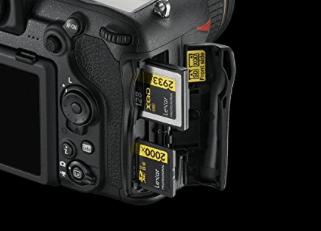 Nikon 500 tarjeta