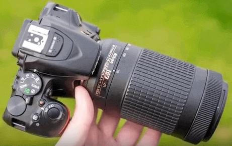 Modelo Nikon d5500