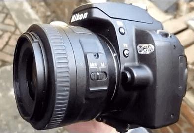 Modelo Nikon d60