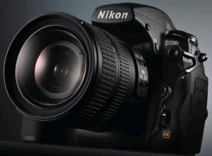 Modelo Nikon d700