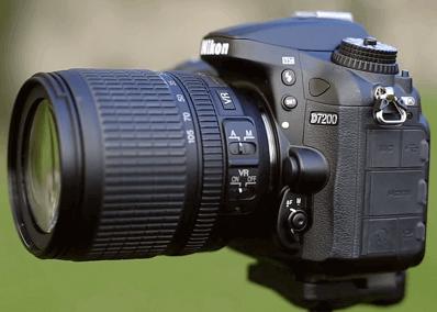 Modelo Nikon d7200