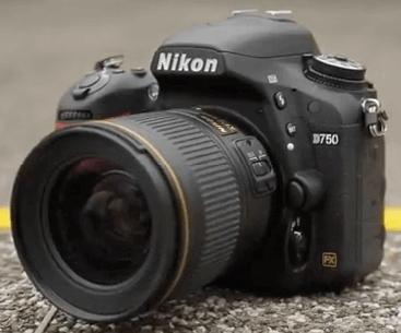 Modelo Nikon d750