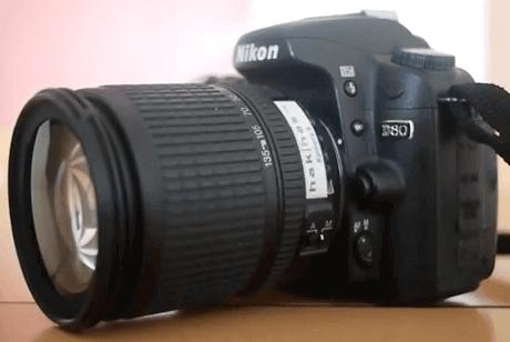 Modelo Nikon d80