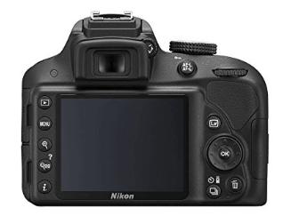 Nikon 3300 pantalla