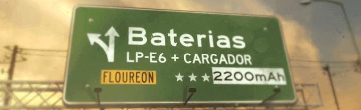 Batería canon lp-e6 precio