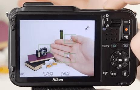 Nikon Coolpix aw120 pantalla