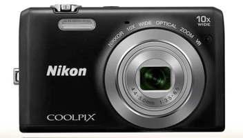 Nikon Coolpix s6700 negra