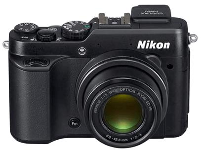 Nikon Coolpix p7800 cuerpo de la cámara