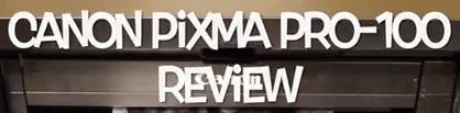Canon Pixma Pro-100 impresionantes