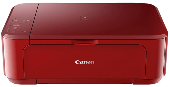 Impresora multifunción roja de Canon