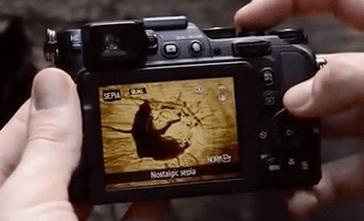 Nikon Coolpix p7800 pantalla