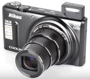 Nikon Coolpix s9600 información