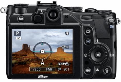 Nikon p7000 pantalla