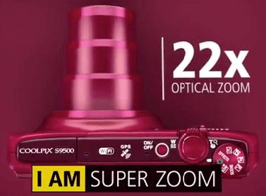 Nikon Coolpix s9500 zoom