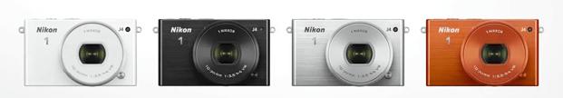 Nikon modelos colores 1 j4